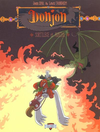 Couverture donjon zénith tome 4 - sortilèges et avatars