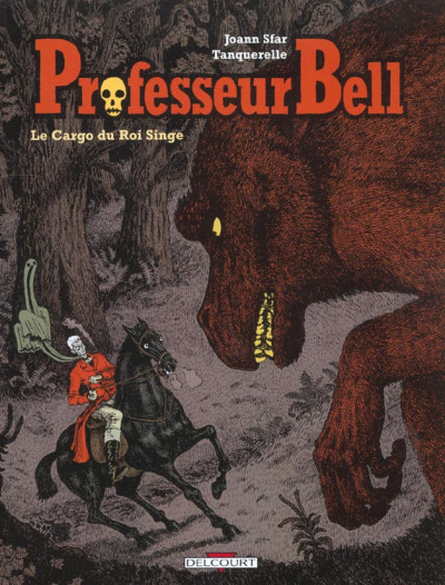 Couverture professeur bell tome 3 - cargo