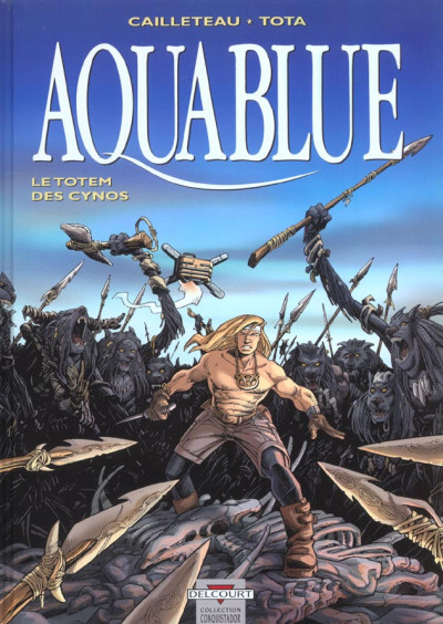 Couverture aquablue tome 9 - le totem des cynos