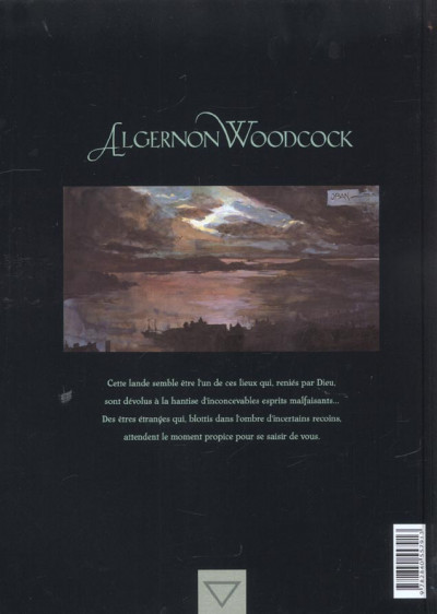 Dos algernon woodcock tome 1 - l'oeil fé première partie