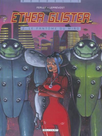 Couverture Ether Glister tome 2 - le fantome du mino