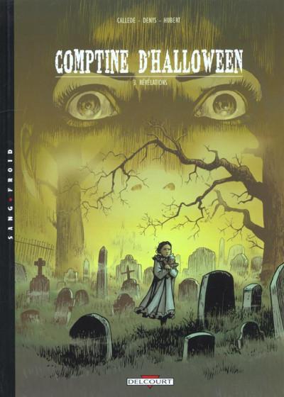 Couverture comptine d'halloween tome 3 - révélations