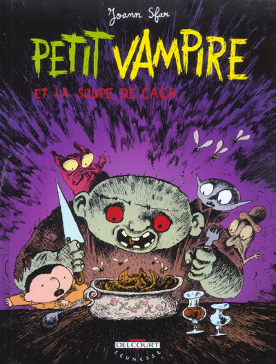 Couverture petit vampire tome 5 - petit vampire et la soupe de caca