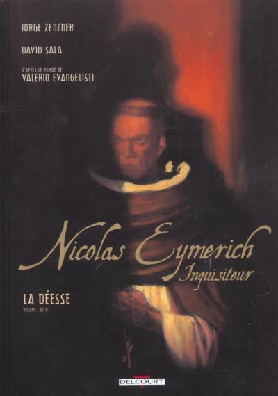 Couverture nicolas eymerich, inquisiteur tome 1 - la déesse tome 1