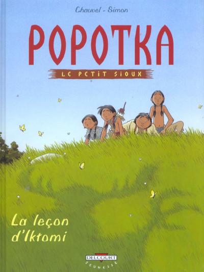 image de popotka le petit sioux tome 1 - la leçon d'iktomi