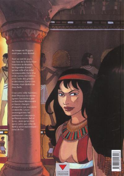 Dos sur les terres d'horus tome 2 - meresankh ou le choix de seth