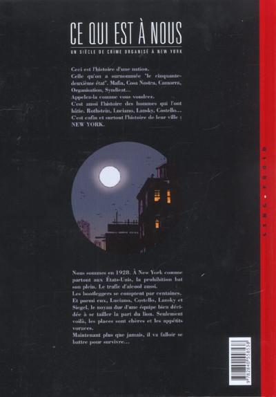 Dos ce qui est à nous tome 6 - deuxième époque tome 1 - The Big Seven