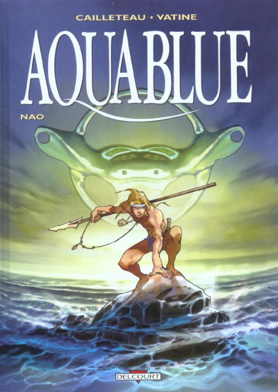 Couverture aquablue tome 1 - nao