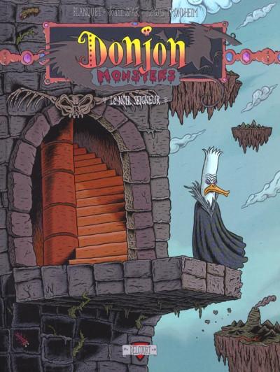 Couverture donjon monsters tome 4 - le noir seigneur