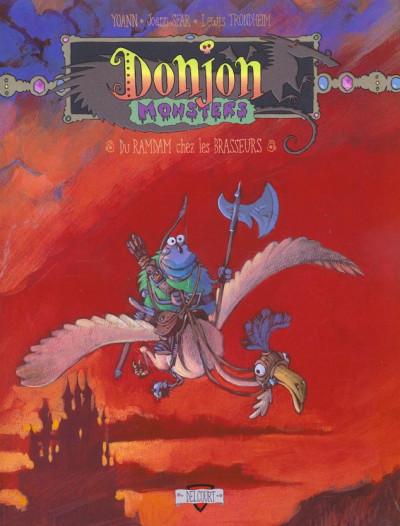 Couverture donjon monsters tome 6 - du ramdam chez les brasseurs