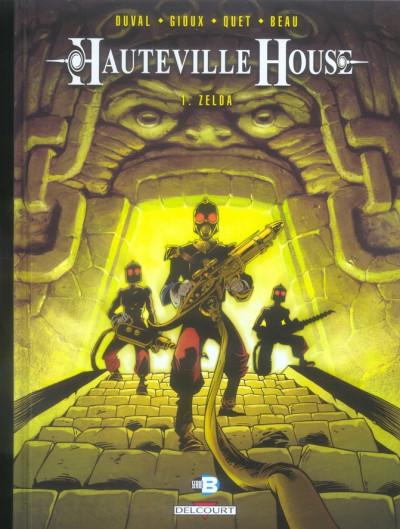 Couverture hauteville house tome 1 - zelda
