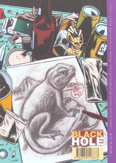 Dos Black hole tome 4 - reine des lézards