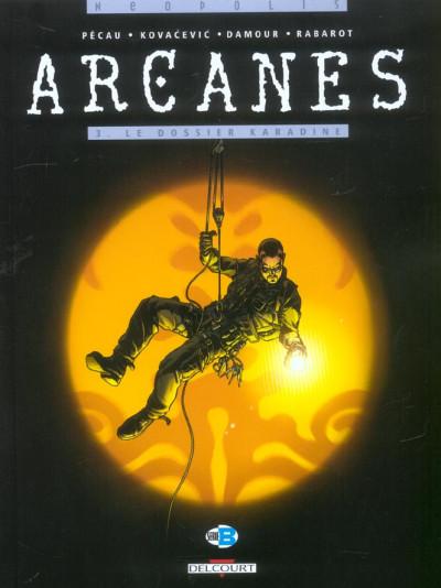 image de arcanes tome 3 - le dossier karadine