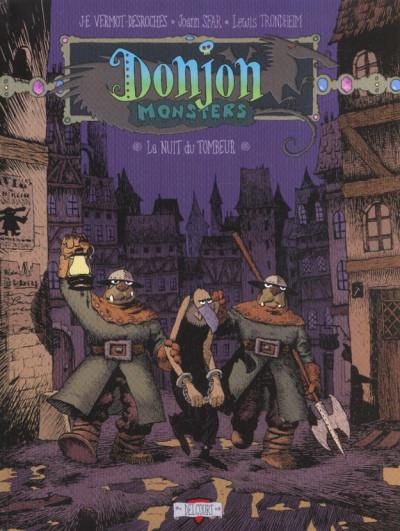 Couverture donjon monsters tome 5 - la nuit du tombeur