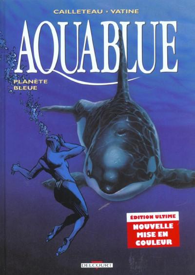 Couverture aquablue tome 2 - planète bleue
