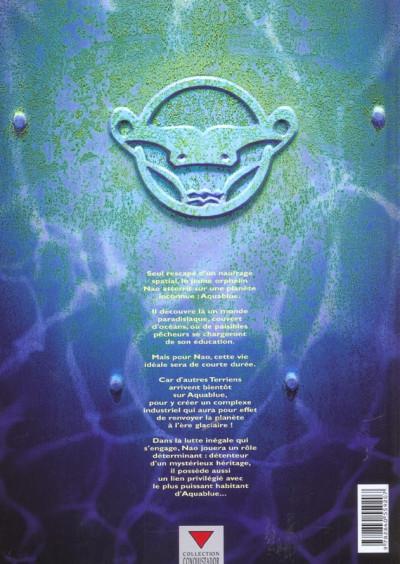 Dos aquablue tome 2 - planète bleue