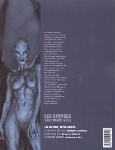 Dos Le chant des stryges tome 7 - rencontres