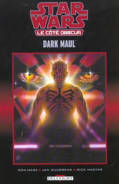 Couverture star wars - le cote obscur tome 2 - darth maul (cartonné)