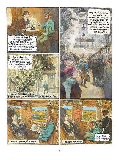 Page 8 vincent et van gogh tome 1