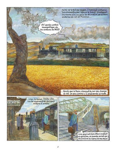 Page 9 vincent et van gogh tome 1