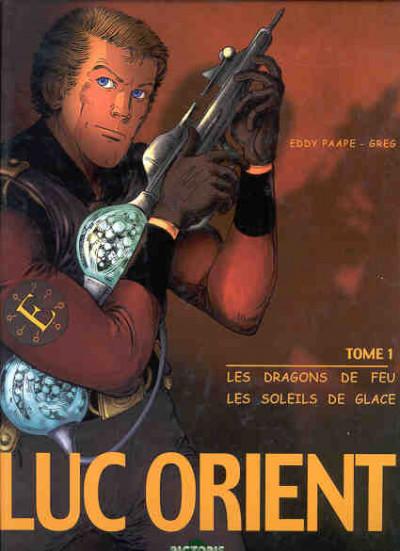 Couverture Luc Orient - intégrale tome 1
