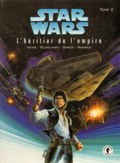 Couverture star wars l'héritier de l'empire tome 2