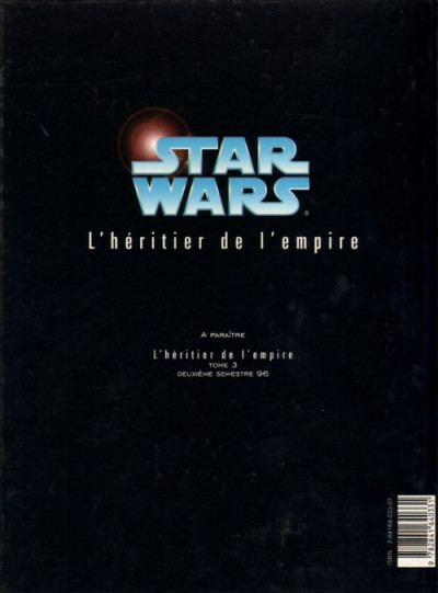 Dos star wars l'héritier de l'empire tome 2