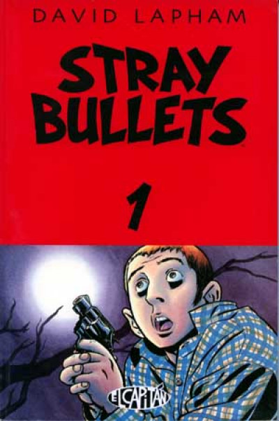Couverture Stray Bullets tome 1