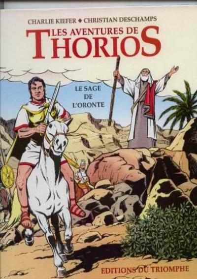 Couverture Les aventures de thorios - le sage de l'oronte