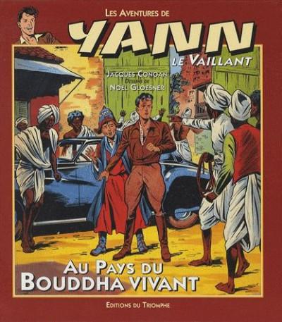 Couverture Yann le vaillant tome 1 - Au pays du bouddah vivant