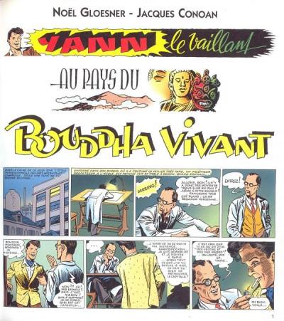 Page 1 Yann le vaillant tome 1 - Au pays du bouddah vivant