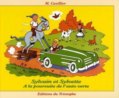 Couverture sylvain et sylvette tome 25 - à la poursuite de l auto verte