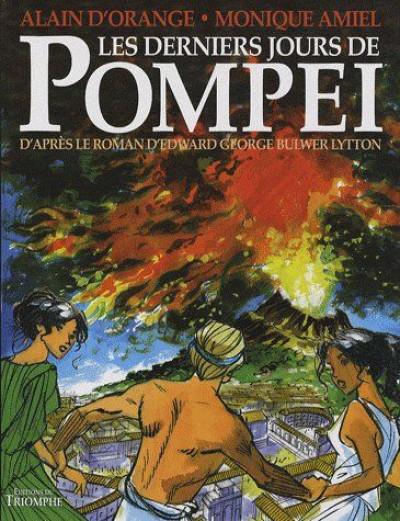 Couverture les derniers jours de pompéi