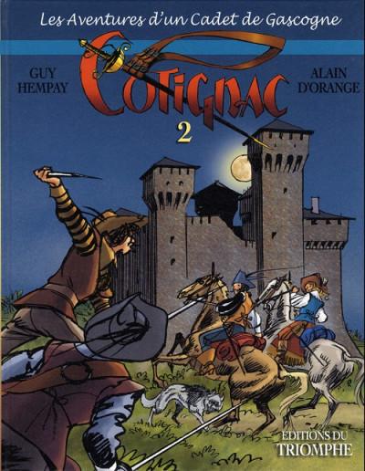 Couverture Cotignac, les aventures d'un cadet de Gascogne tome 2