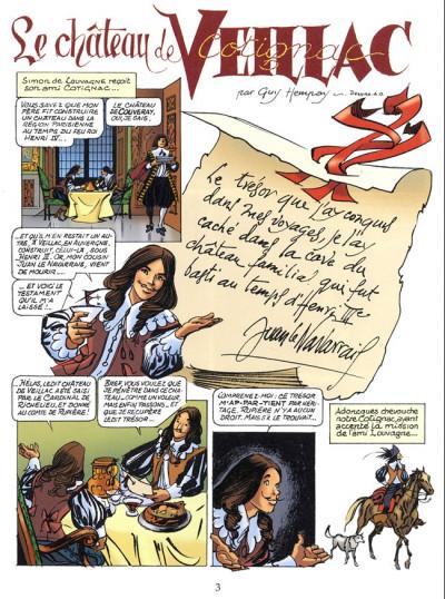 Page 1 Cotignac, les aventures d'un cadet de Gascogne tome 2