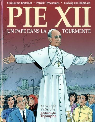 Couverture Pie XII - un pape dans la tourmente