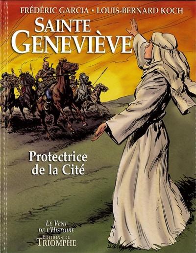 Couverture Sainte Geneviève - Protectrice de la cité