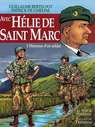 Couverture Avec Hélie de Saint-Marc - L'honneur d'un soldat