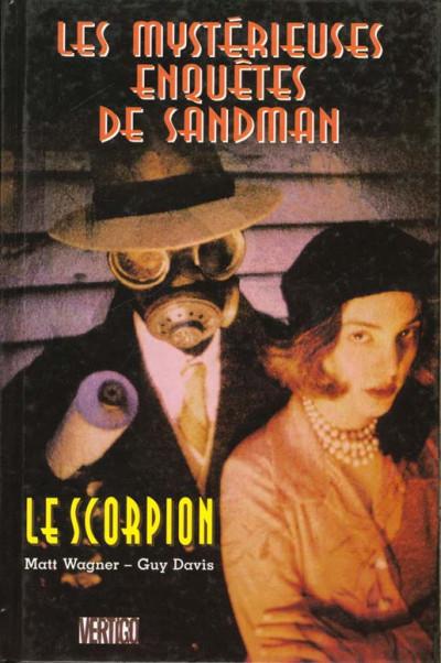 Couverture Les mystérieuses enquêtes de Sandman tome 3 - le scorpion