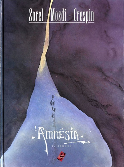 Couverture Amnesia tome 1 - orphée