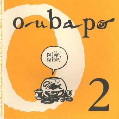 Couverture Oubapo Oupus 2 - De l'air de l'air