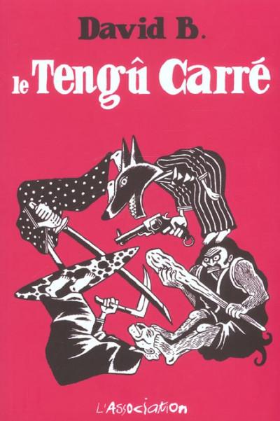 image de tengu carre tome 1 - la renarde et le champignon
