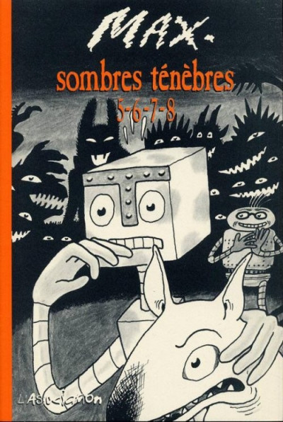 Couverture sombres ténèbres tome 5-6-7-8