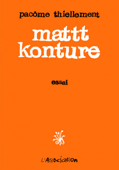 Couverture mattt konture tome 1