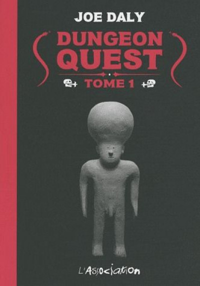 Couverture dungeon quest tome 1
