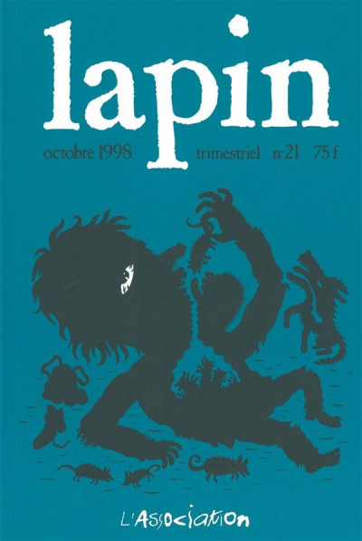 Couverture lapin tome 21