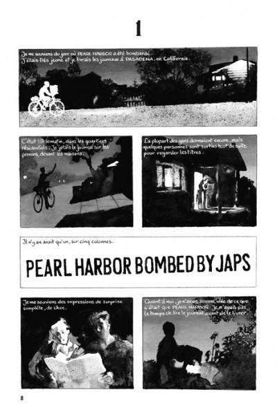 Page 1 la guerre d'Alan ; intégrale