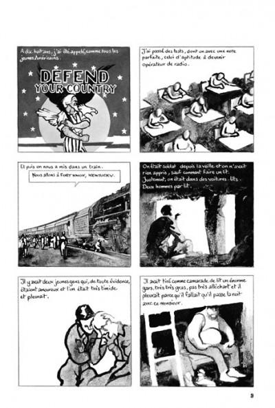 Page 2 la guerre d'Alan ; intégrale