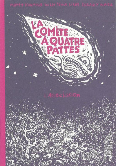 Couverture la comète à quatre pattes