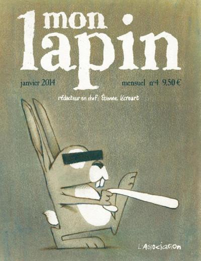 Couverture Mon lapin tome 4 - janvier 2014